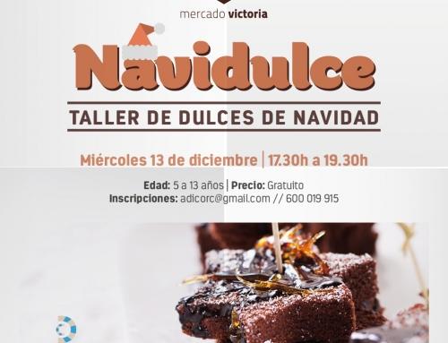 TALLER DE DULCES DE NAVIDAD EN MERCADO VICTORIA