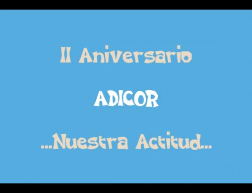 VÍDEO CONMEMORATIVO DEL 2º AÑO DE ACTIVIDAD DE ADICOR.