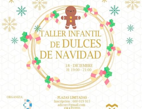 III TALLER DE DULCES DE NAVIDAD ADICOR