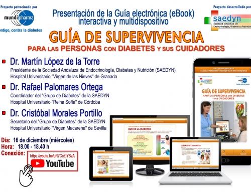 PRESENTACIÓN DE GUÍA DE SUPERVIVENCIA PARA LAS PERSONAS CON DIABETES Y SUS CUIDADORES.